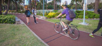Bike Counter + Pedestrian Volume