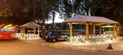 Ealing Broadway Cycle Hub- Conception unique et primée