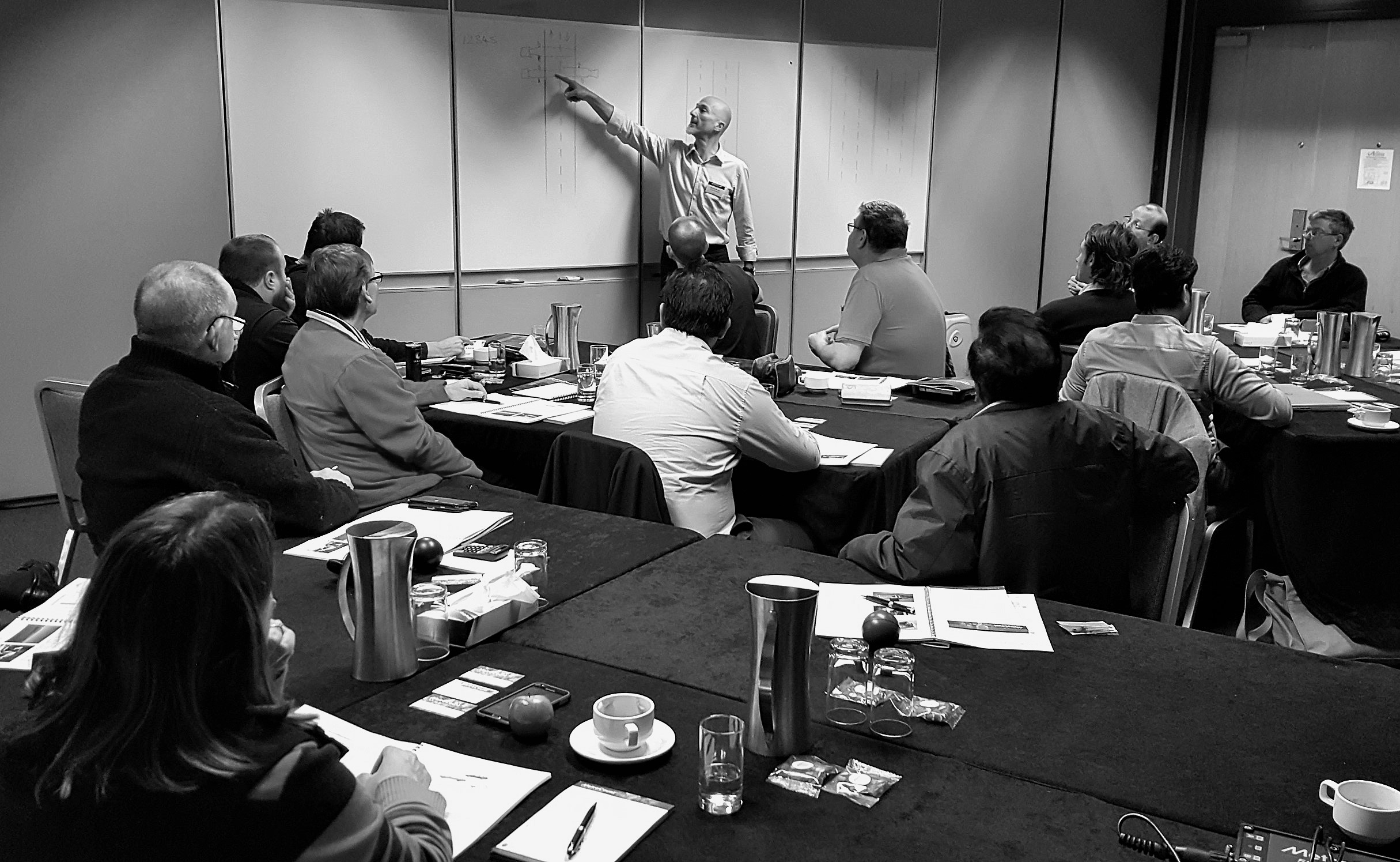 MetroCount training days - Maurice Berger, Melbourne