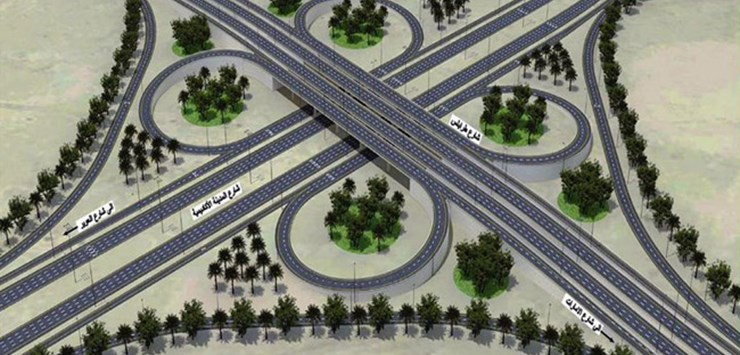 Road infrastructure in the Middle East