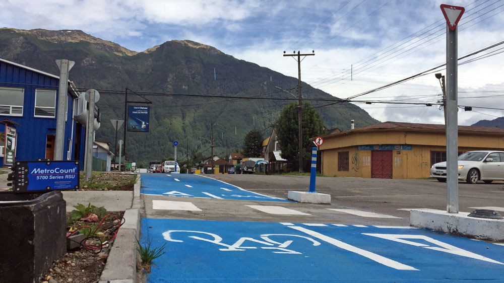 Bike monitoring in Chile