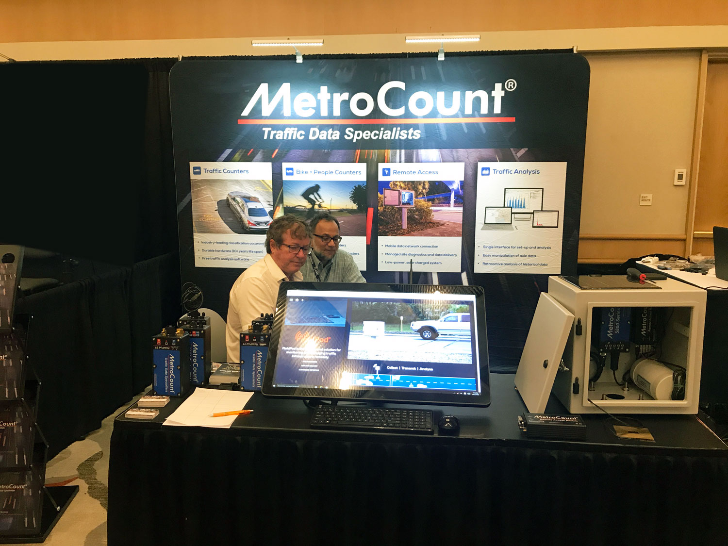 NaTMEC 2018 with the Traffic Data Specialists | MetroCount