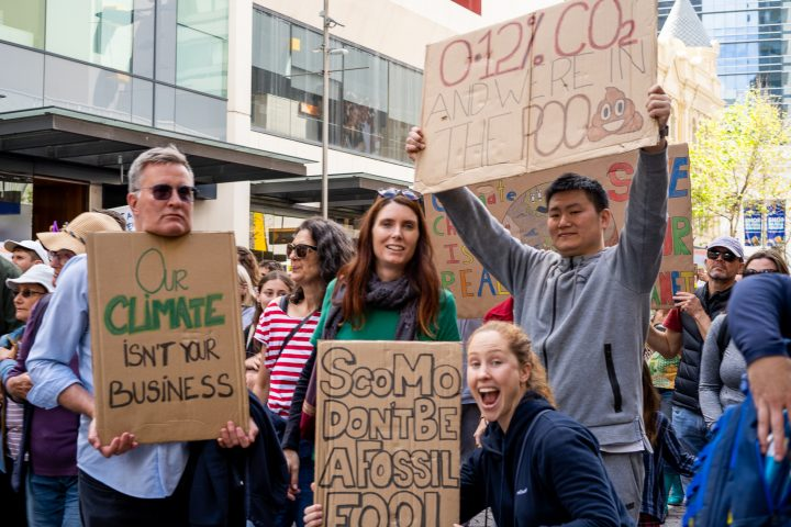 Not business as usual at Global Climate Strike
