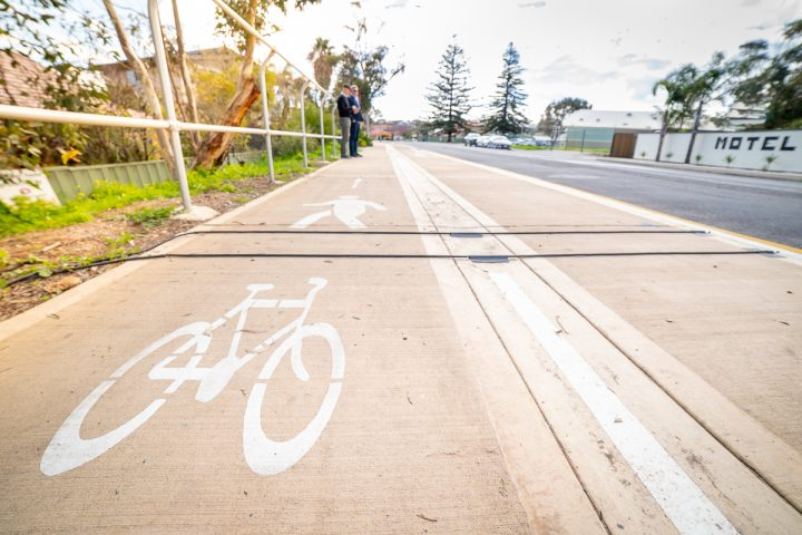 Portable Bike Data Collection device in Onkaparinga